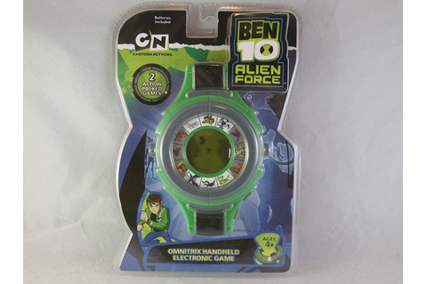 Ben 10 Alien Force Omnitrix Handheld Game Review - YouTube