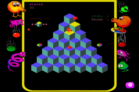 Arcade Hit Q*bert Coming to Steam with Classic, Rebooted ...