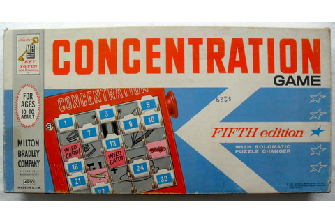 ART SKOOL DAMAGE : Christian Montone: Game On! > Concentration (1962)
