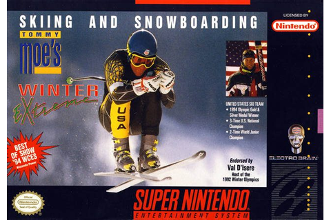 Val d'Isère Championship (1994) by Loriciel SNES game