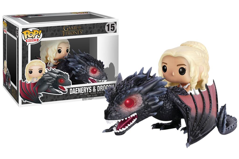 Game Of Thrones Daenerys Targaryen & Drogon Vinyl Figure ...