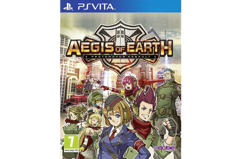 Aegis of Earth: Protonovus Assault - PS Vita Game ...