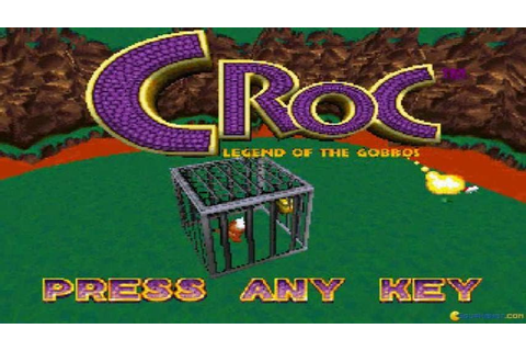 Croc: Legend of the Gobbos gameplay (PC Game, 1997) - YouTube