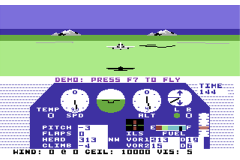 Download Solo Flight (Enhanced) (Commodore 64) - My ...