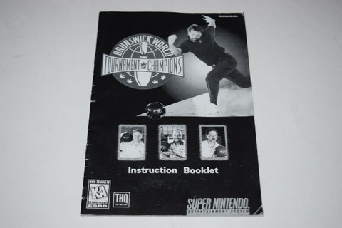 Brunswick World Tournament Champions Super Nintendo SNES ...