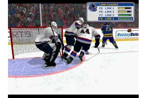 NHL 2002 Gameplay - YouTube