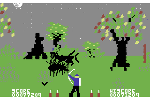 VGJUNK: FORBIDDEN FOREST (C64)