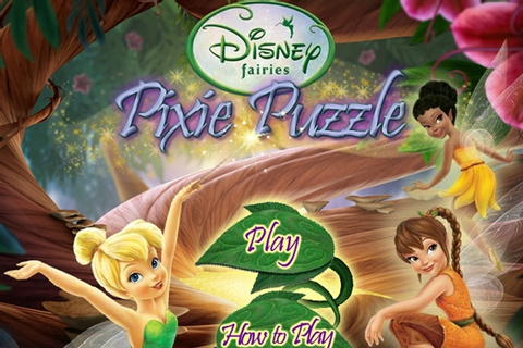 Disney Fairies Pixie Puzzle Game - Disney games - Games Loon