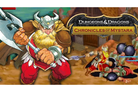 Dungeons & Dragons: Chronicles of Mystara - The Dwarf ...