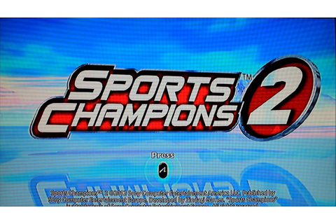 Sports Champions 2 Game play review - YouTube