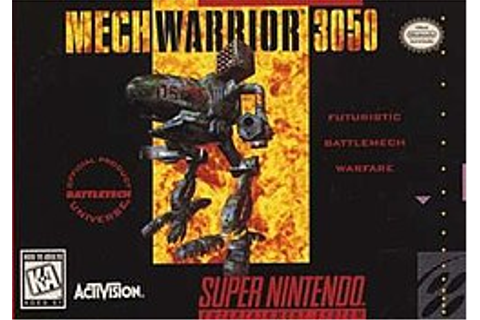 MechWarrior 3050 - Wikipedia