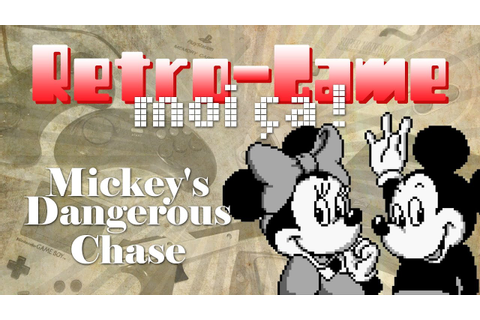 VGMC - Retro-Game - Mickey's Dangerous Chase (GB) - YouTube