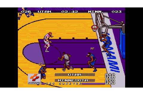 Double Dribble: The Playoff Edition ... (Sega Genesis ...