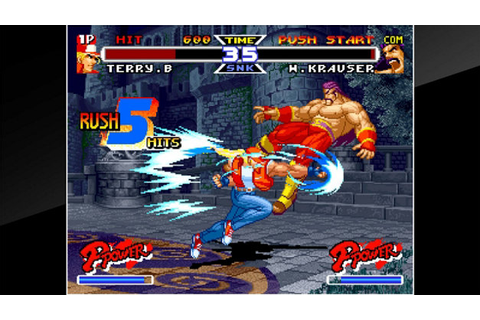 ACA NEOGEO REAL BOUT FATAL FURY SPECIAL Game | PS4 ...