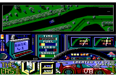 Download The Last V8 (Amstrad CPC) - My Abandonware