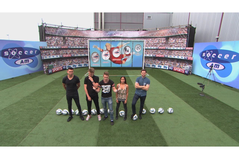 SOCCER AM CHALLENGE!!!! - YouTube