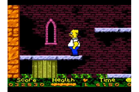 Top 100 Worst GBC Games #68 Simpsons Night Of The Living ...