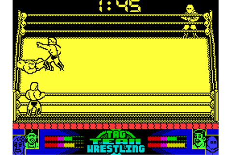 American Tag Team Wrestling (1992) by Zeppelin ZX Spectrum ...