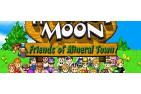 Harvest Moon Friends of Mineral Town GBA Rom - Download ...