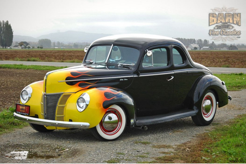 1940 Ford Deluxe Coupe Hot Rod Rods Hotrod Custom USA ...