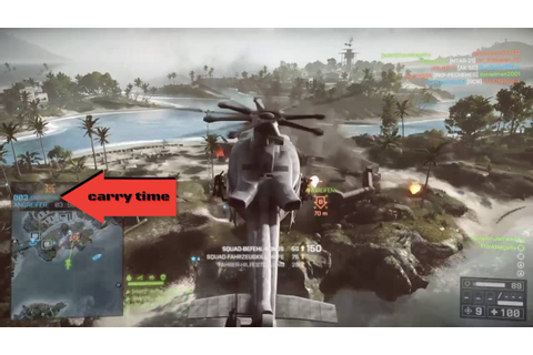 Close Air Support - BF4 Huey Gameplay - YouTube