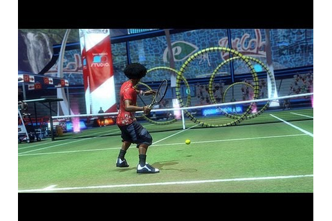 Sports Champions 2 Tennis PlayStation Move Game Play Demo ...