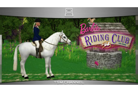 Barbie Riding Club (part 5) (Horse Game) - YouTube