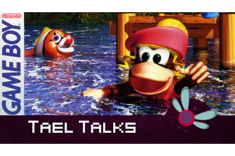Tael Talks: Donkey Kong Land 3 - Game Boy - YouTube