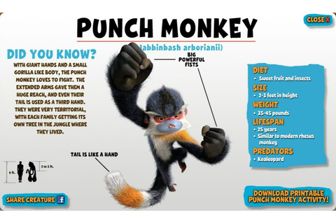 Image - Punch Monkey.jpg - The Croods Wiki