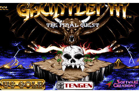 Gauntlet III: The Final Quest (1991) Amiga game