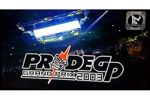 Pride FC Grand Prix: 2003 on PS4 (Was Japan only release ...