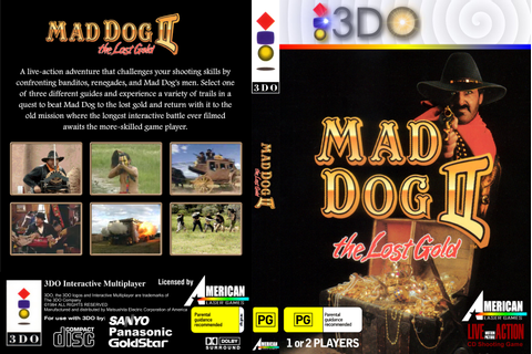 Burning Soldier 3do | 3DO - Mad Dog II - The Lost Gold (2 ...
