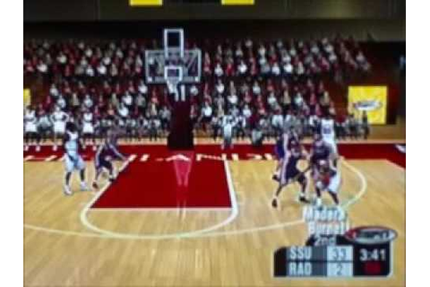ESPN College Hoops 2K5 Tournament 16 Part 3 - YouTube