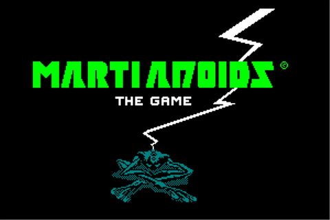 Download Martianoids (Amstrad CPC) - My Abandonware