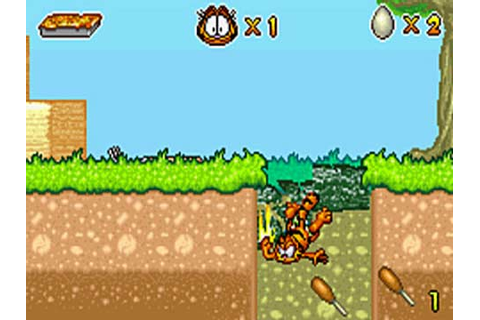 Garfield et ses neuf vies - tests - GamesUP.ch