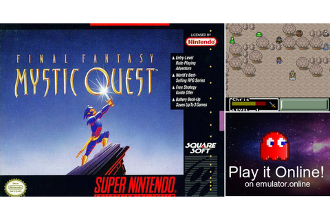 Play Final Fantasy: Mystic Quest on Super Nintendo