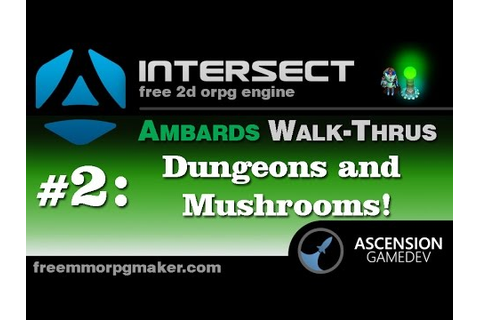 Intersect 2D Game Engine Tutorial Series Dungeons - YouTube