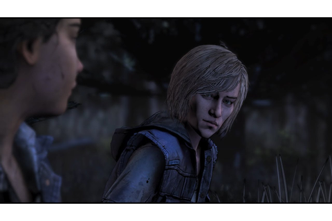 Clementine Meets Violet - (The Walking Dead: The Final ...