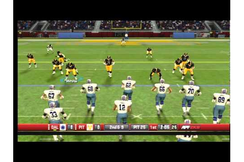 All Pro Football 2K8 Live Gameplay pt.1 - YouTube