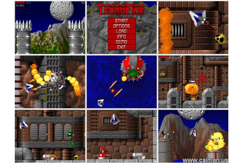 Caiman free games: TerraFire by ORT Software.