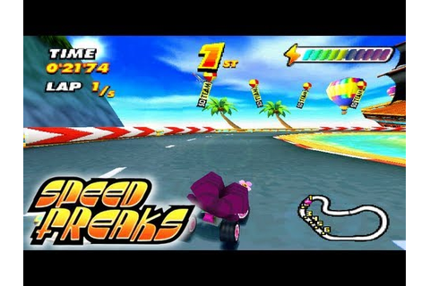 Let's Play Speed Freaks: Part 1 - Easy Cup [Normal Wheels ...