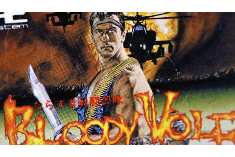 Classic Game Room - BLOODY WOLF review for PC-Engine - YouTube