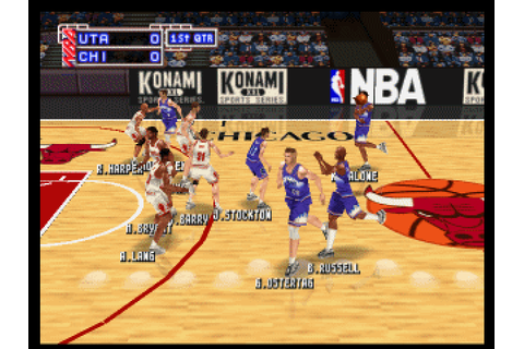NBA in the Zone '99 (1999) by Konami OSA for N64
