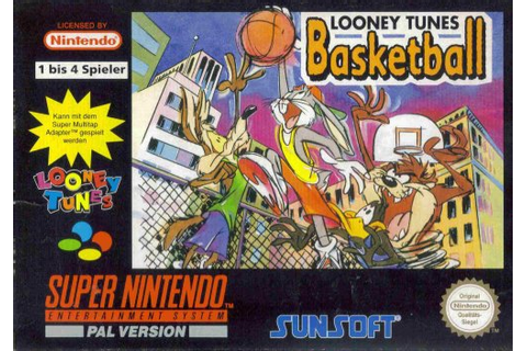 Looney Tunes Basketball (SNES) (Super Nintendo) verkaufen ...