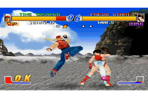 Fatal Fury: Wild Ambition Gameplay (PSX) - YouTube