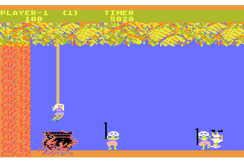 Game review: Atari Jungle Hunt for #Atari 5200