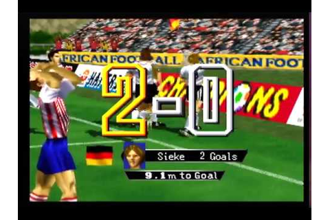International Superstar Soccer 64 - USA vs Germany Full ...