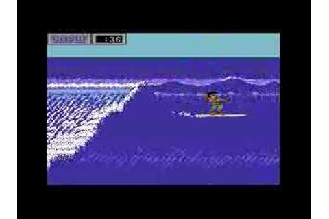 C64 California Games Surfing - 10.0 - - YouTube