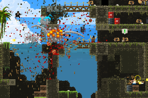 Broforce devs talk female heroes, 80s action appeal and ...