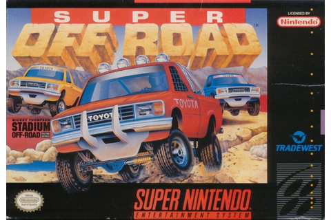 Ivan 'Ironman' Stewart's Super Off Road for Amiga (1990 ...